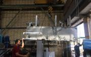 تحویل دستگاه استریپ کولر به شرکت صنایع لاستیکی پارمیدا