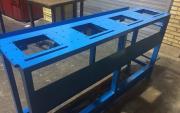 ساخت انواع شاسی فلزی و استیل